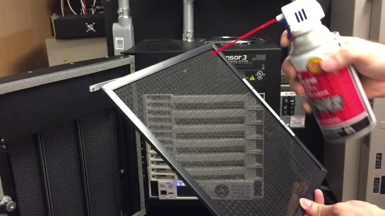 Cleaning and Maintaining your ETC Sensor or DRd Rack - Exterior