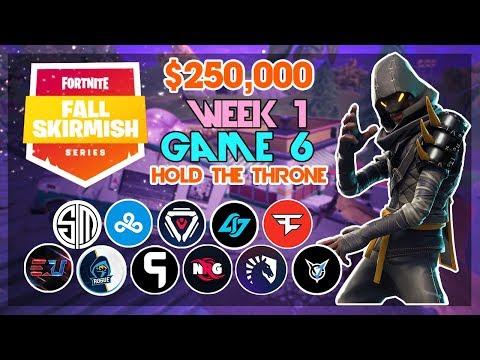 $250,000 🥊Hold The Throne Duo Fall Skirmish🥊 Week 1/Game 6 (Fortnite)