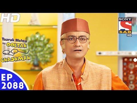Taarak Mehta Ka Ooltah Chashmah - तारक मेहता - Episode 2088 - 7th December, 2016