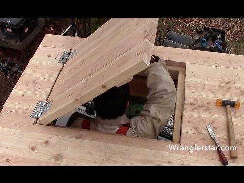 Treehouse Secret Trap Door | 14 Wranglerstar