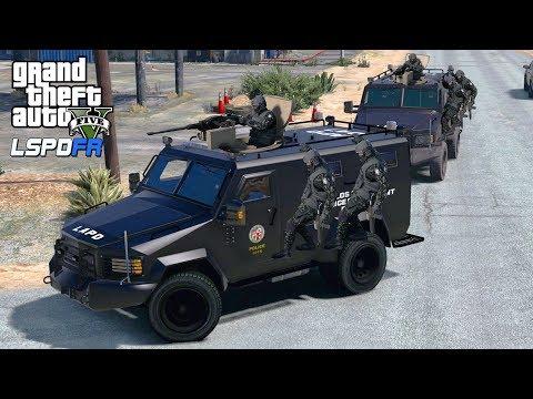 GTA 5 - GREATEST SWAT TEAM RAID! LSPDFR Episode #197 Lenco Bearcat SWAT Team Raids Gang!