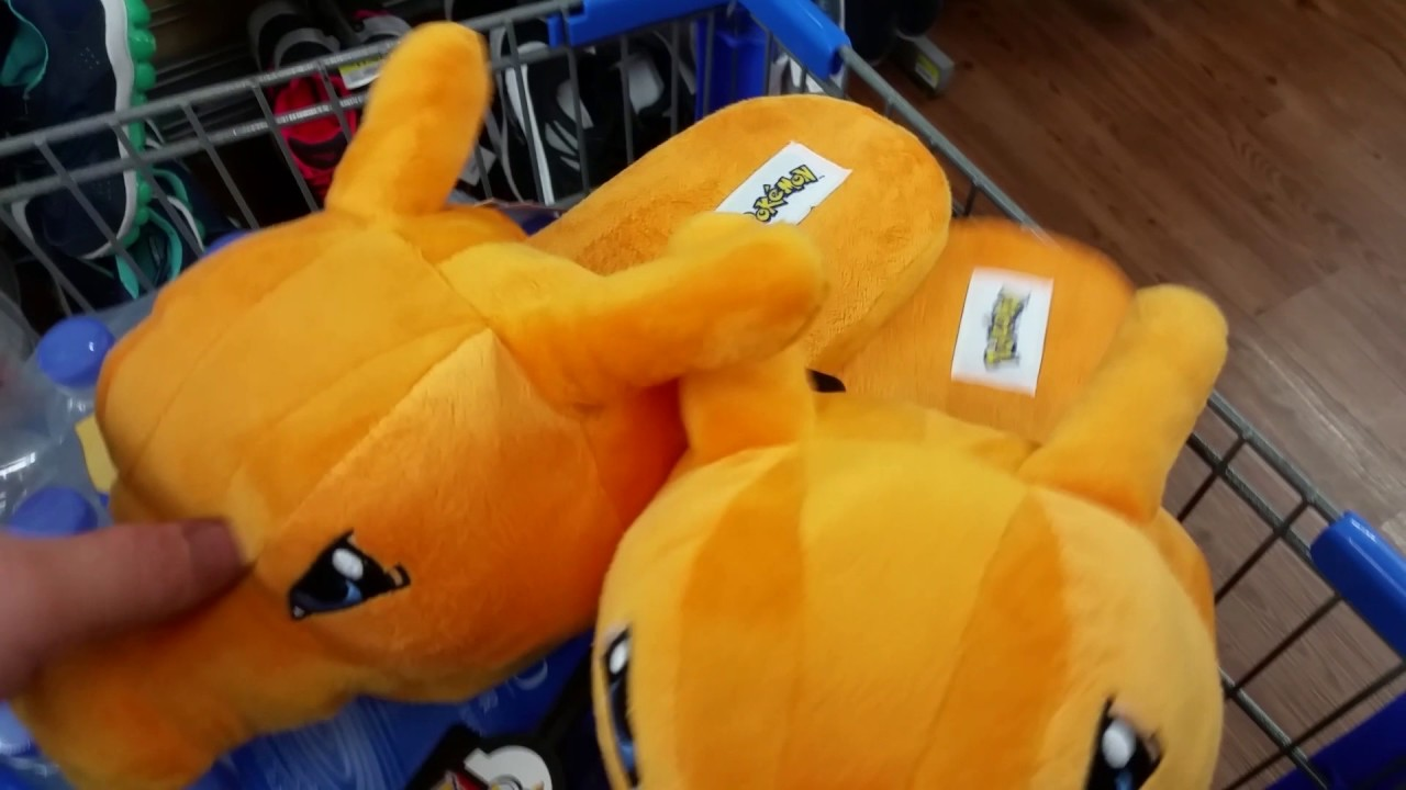 b6aa5d397e94 POKEMON CHARIZARD   GENGAR SLIPPERS AT WALMART!!! - YouTube