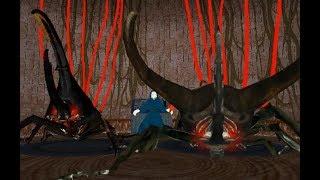 Chalcosoma 南洋三劍客の戦 - アトラス VS コーカサス & モーレンカンプ gameplay リクエスト by Sumatera Dorcus & 浪立。お待たせしました! No.024 Atlas Beetle...