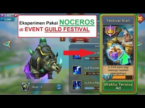 Eksperimen Festival Klan (GF) Dengan Noceros