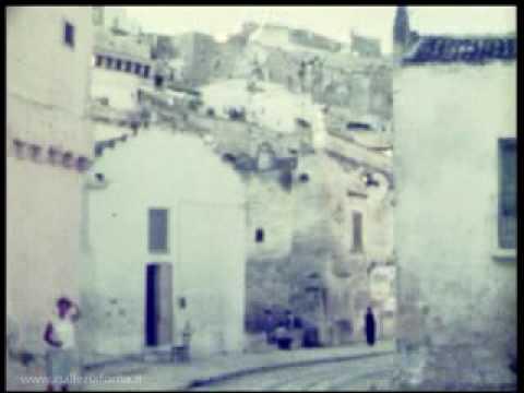 Sassi di Matera 1963