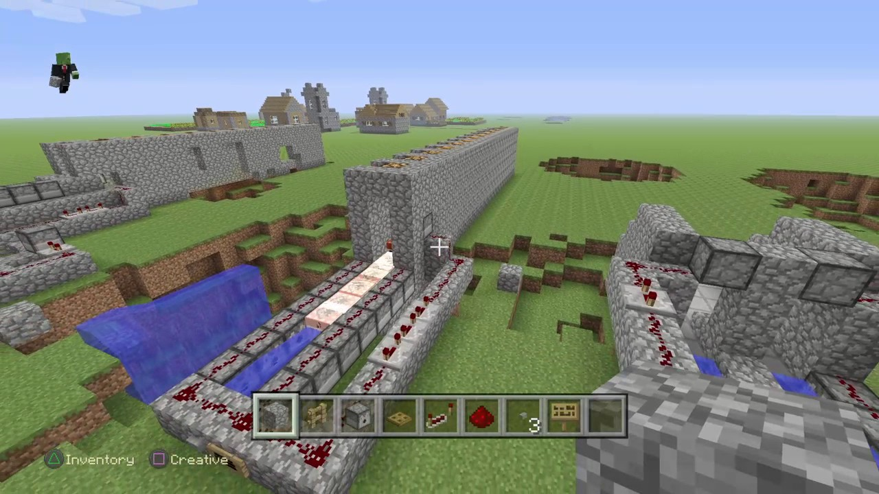 minecraft how to build a tnt cannon