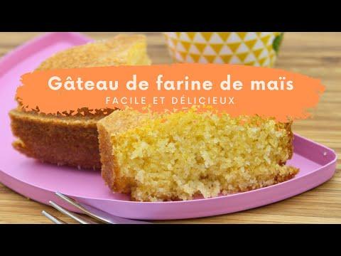 gâteau-de-farine-de-mais---facile,-rapide-et-délicieux