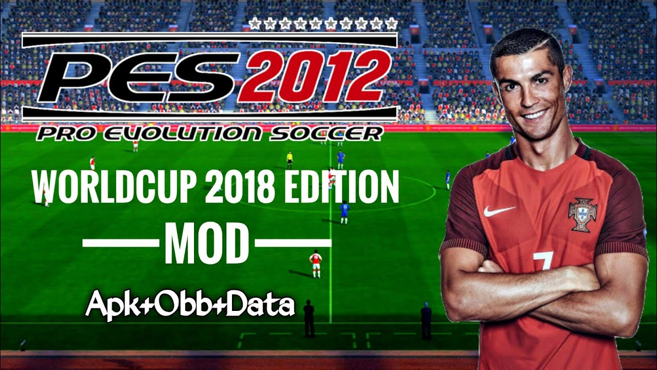 Winning Eleven 2012 Mod PES 2018 V9 World Cup 2018 Edition Android Offline  400 MB