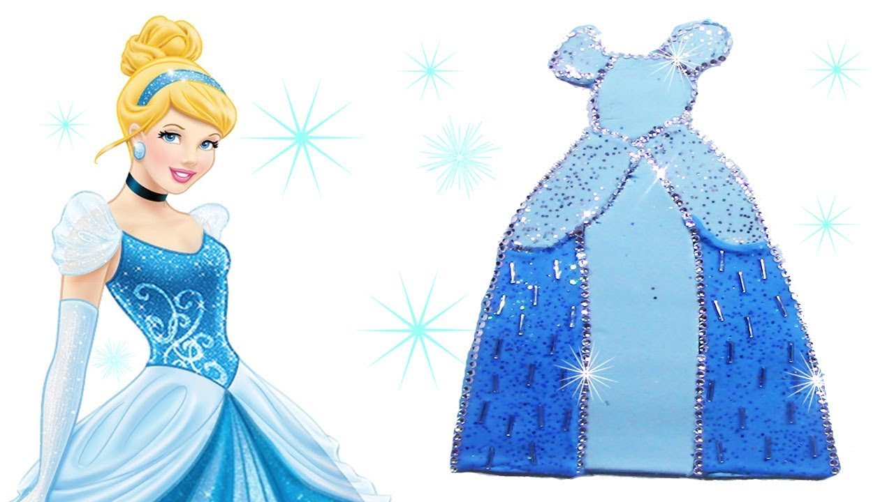 Diy disney princess cinderella play doh dress how to make diy disney princess cinderella play doh dress how to make cinderella costume with playdoh solutioingenieria Images