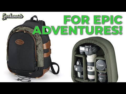 Billingham 25 Camera Rucksack Review - The MOST Stylish Photographers Backpack