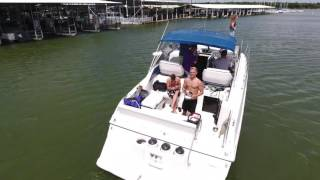 Lewisville Lake - Boating - DJI Phantom 4 Drone Aerial Coverage