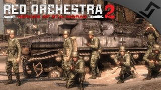 Panzer IV Combined Arms Gameplay - Red Orchestra 2 - Victory Through Failure