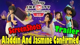 Disney Infinity 2.0 : Aladdin And Jasmine Announced, Trailer, Screenshots, And Power Discs