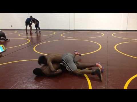 Justin Blair Salem high school wrestling feature