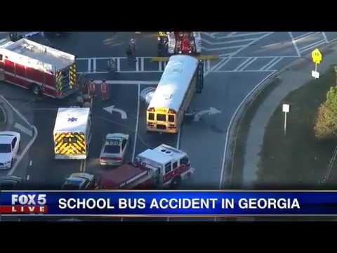 Schoolbus accident in Georgia's Douglas County