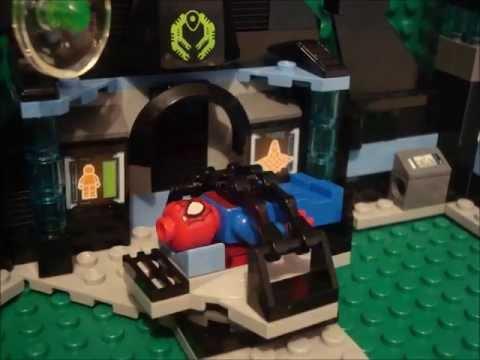 Lego Sider-Man Gets Unmasked