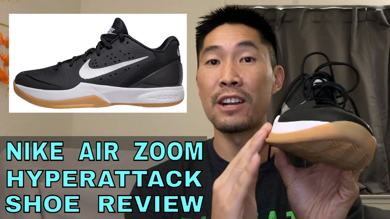 promo code 0dee1 a2d60 Nike Air Zoom Hyperattack Volleyball Shoe Review