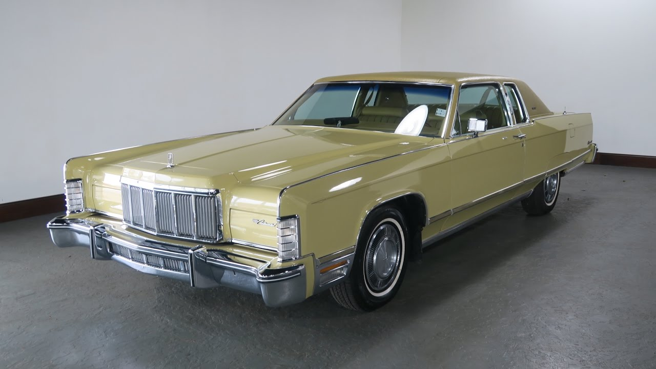 1975 Lincoln Continental for Sale in Canton, Ohio | Jeff's Motorcars