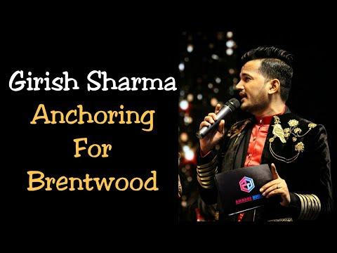 Corporate Event Anchor Girish Sharma Hosting American Company Diwali Event Brent Fest 2019