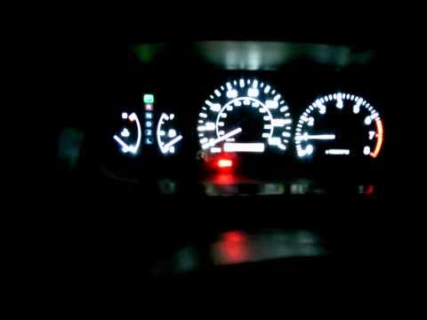 Плавный розжиг светодиодов на панели приборов  Камри v25