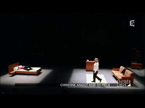 christine angot mise en pi ce youtube. Black Bedroom Furniture Sets. Home Design Ideas