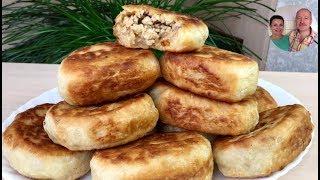 Жарим Воздушные Дрожжевые Пирожки с Мясом! | ВКУСНЯТИНА!