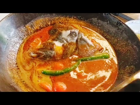 How To Make Curry Fish Head Recipes 咖喱鱼头怎么煮食谱 好好吃 Malaysia Food Hock Chai Cooking Videos