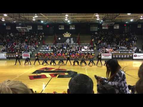 Jonesboro High School Homecoming Dance Team 2016