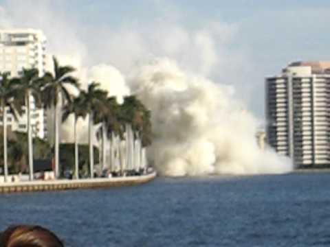 West Palm Beach Building Implosion