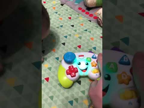 Fisher Price Game And Learn Controller-Konami Code Leads To Secret!