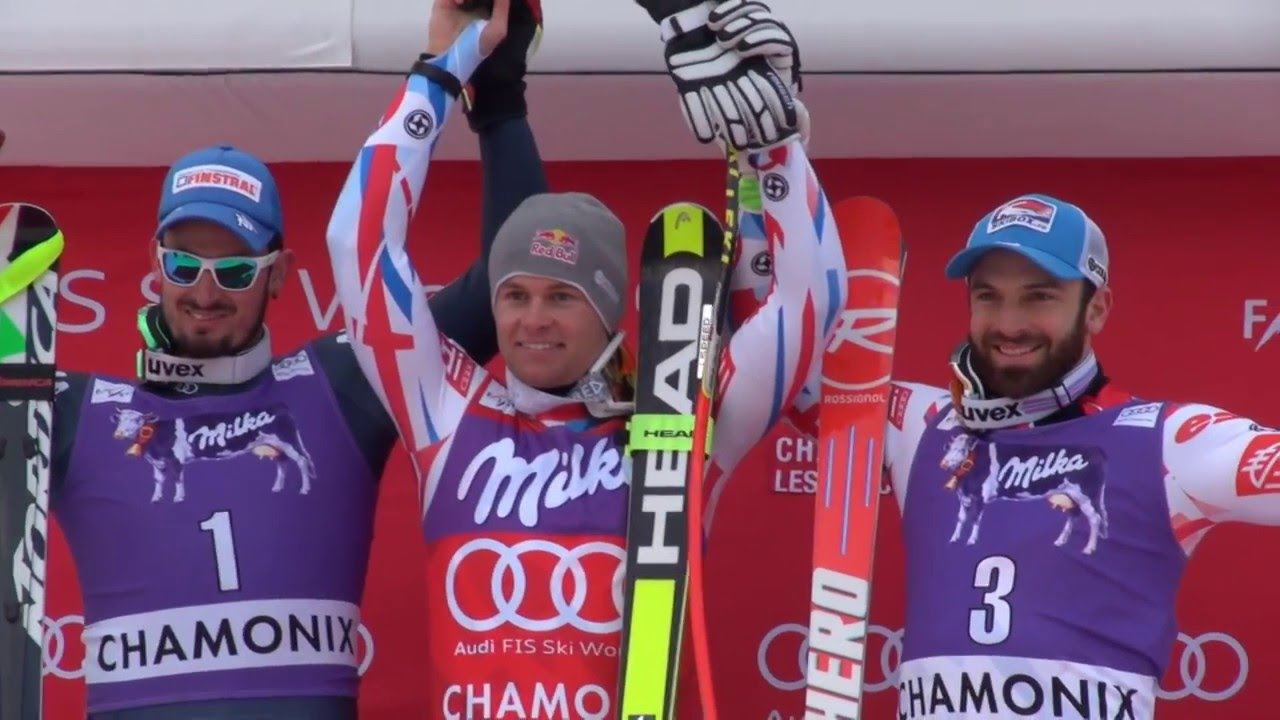 Interview Alexis Pinturault - Winner Kandahar Alpine Combined - EN