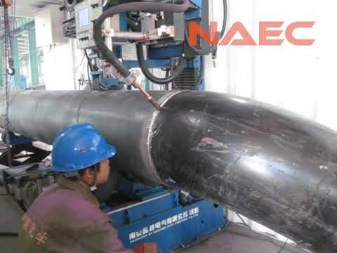 Movable Type Pipe Spool Fabrication Production Line