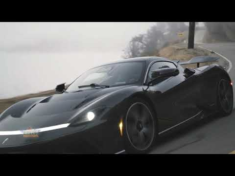 Automobili Pininfarina Batista Debuts on California's Roads