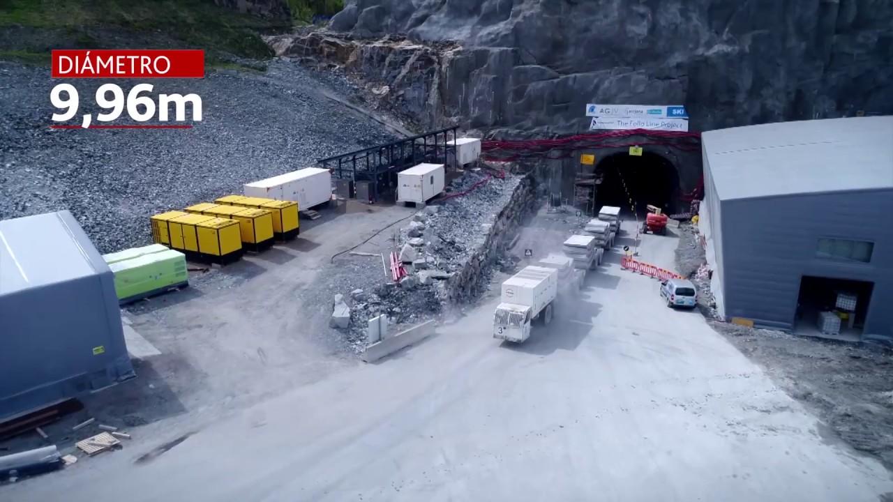 Túneles ferroviarios Follo Line: 2/3 completados del proyecto   ACCIONA