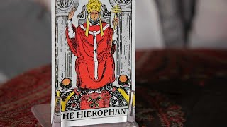 How to Read the Hierophant Card | Tarot Cards