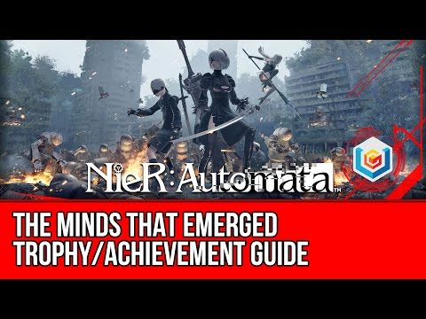 Nier: Automata The Minds That Emerged Trophy Guide (Best Ending & Our Message & Special Gift)