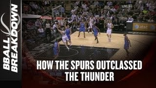NBA 2013: How The Spurs Outclassed The Thunder