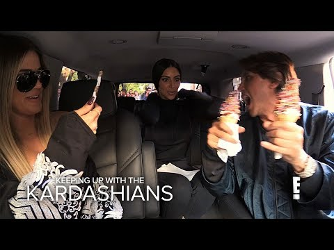KUWTK | Khloe & Kim Kardashian Go on Food Binge Before Diet | E!