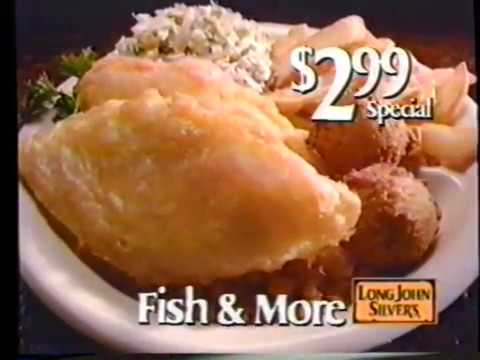 1987 Long John Silvers Fish And Chips TV Commercial