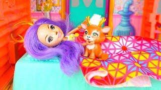 Истории одного утра  Играем с куклами и игрушками