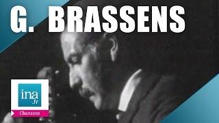 "Georges Brassens"" Marinette"" (live officiel)   Archive INA"