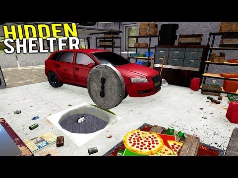 HIDDEN SHELTER FOUND BENEATH ABANDONED GARAGE! Biggest Bunker Yet? - House Flipper Gameplay