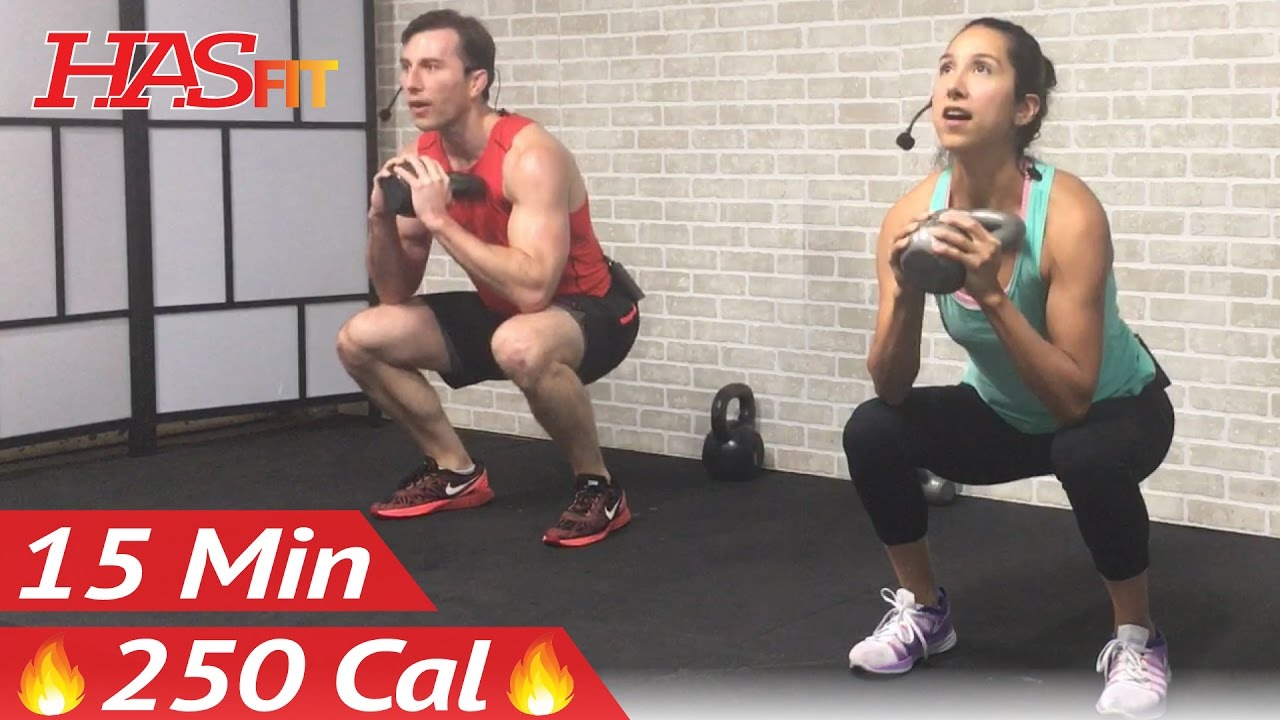 15 Min Kettlebell Workout