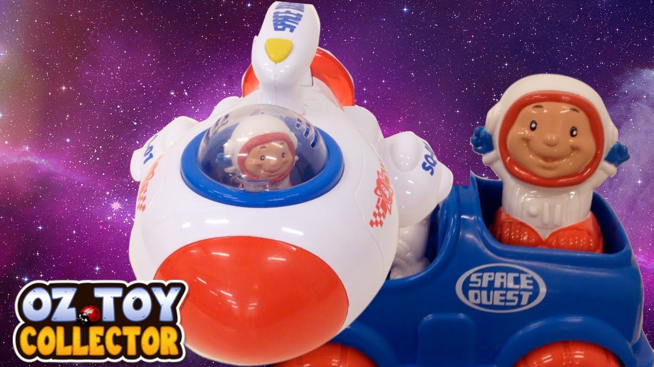 Little People Toys Space Ship Peppa Pig Style Spaceship ...