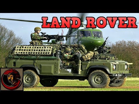 British Army Land Rovers Are Just Awesome!