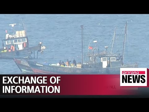 Two Koreas exchange information on illegal fishing boats near maritime border