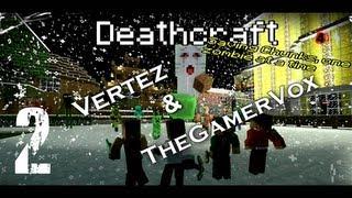 [#2] Minecraft dla Zmarłych - Deathcraft II (TheGamerVox & Vertez) L4D2 - Podziemia