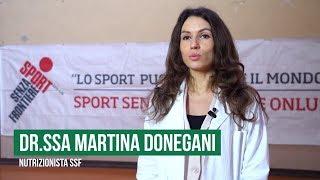 Martina Donegani - Nutrizionista Sport Senza Frontiere Onlus