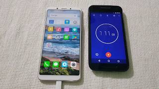 Oppo F5 charging Time Test