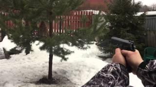 Байки от Сани. Травматический пистолет Grand Power T12. Пробивная сила пули #2(Grand Power T10 — огнестрельное оружие ограниченного поражения, пистолет производившийся в Словакии, компанией..., 2015-03-09T16:33:08.000Z)